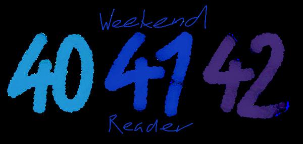 WeekendReader41