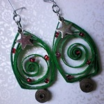 Lorene-just Lu-Quilled Earrings