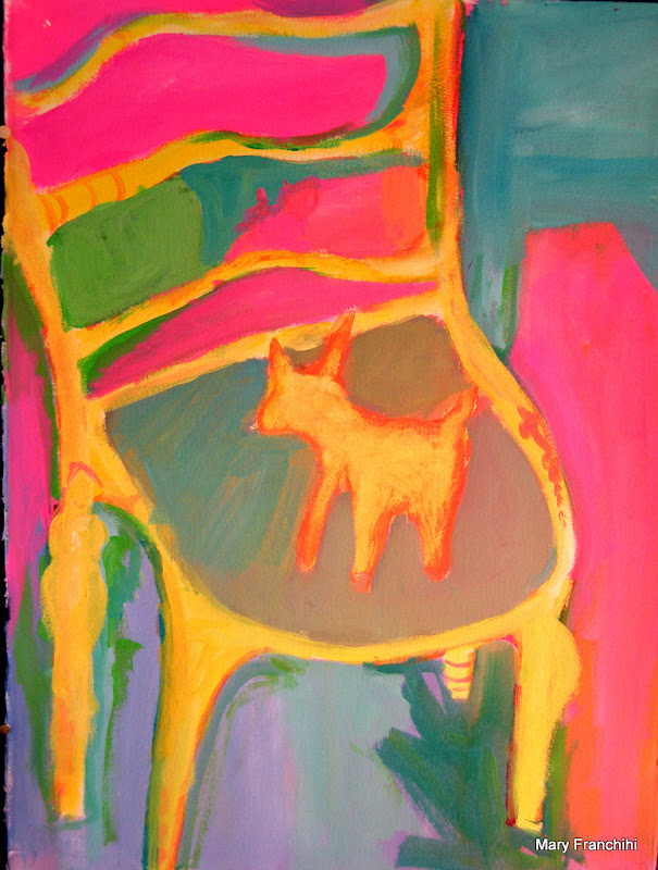 """Skip Mark Chair"" Acrylic"