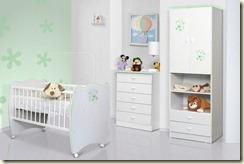 Quarto-de-bebe-decorado-Verde-e-Branco-Moderno
