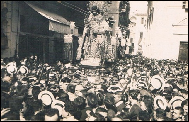 Virgen Desamparados. 1924