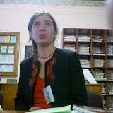 Выступление Елены Заславской в Научной Библиотеке Львова