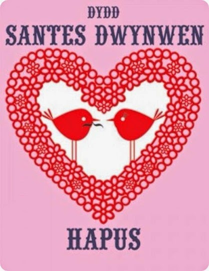 Dydd Santes Dwynwen Hapus