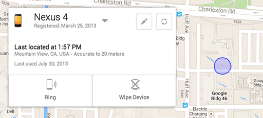 Android Device Manager Find My Phone