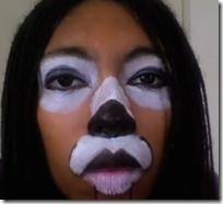 maquillaje ciervo halloween