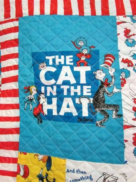 Cat in the Hat Quilt 2012 005