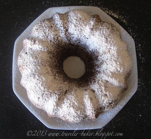 Southern Apple Pecan Cake 2