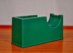 heavy green tape dispenser