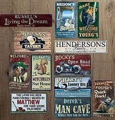 Man Cave Wall Signs