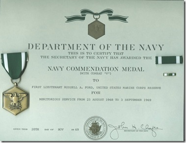 Russell's Navy Commendation Medal