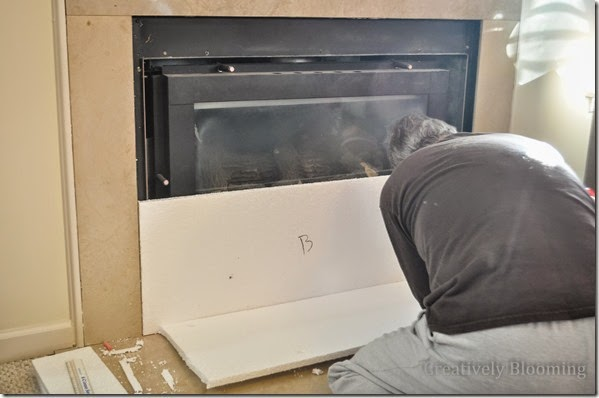 DIY Kid Friendly Fireplace Cover