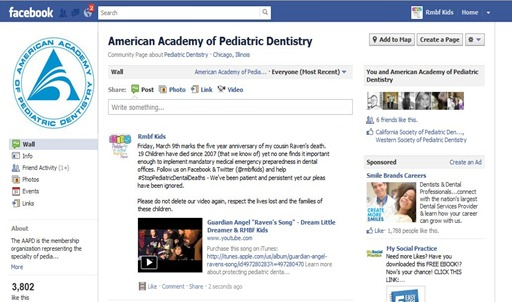AAPD Removing Facebook Posts