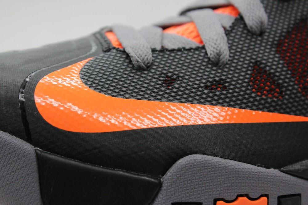 Nike Zoom LeBron Soldier VI 6 Black Orange