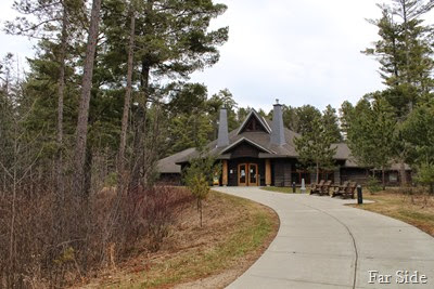 Visitors Center at Itasca State Park