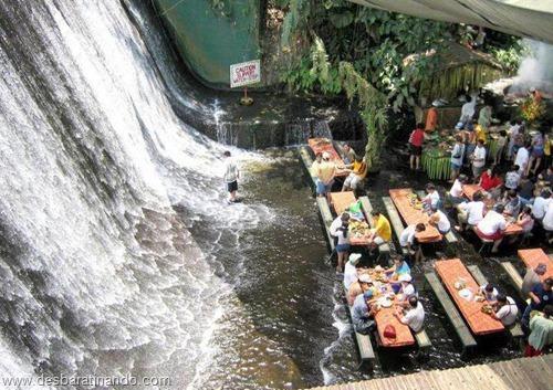 villa escudero Waterfall Restaurant restaurante na cachoeira desbaratinando  (5)