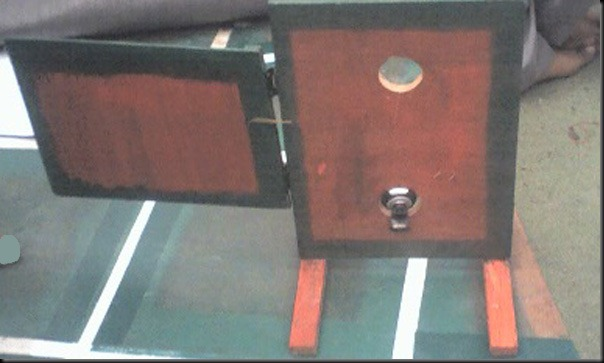 The Door with webcam that captures the number plate of the ALR