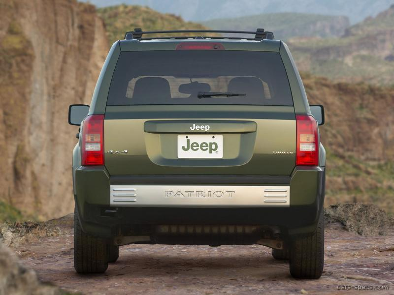 2007 jeep patriot suv specifications pictures prices. Black Bedroom Furniture Sets. Home Design Ideas