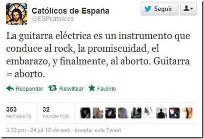 fanáticos de la iglesia católica