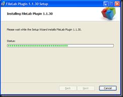 FileLab - plug in instalação