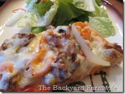 mild Italian sausage - The Backyard Farmwife