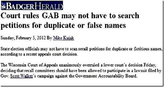 Court rules GAB ... petitions