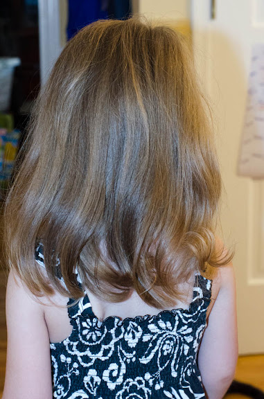 post first haircut rear