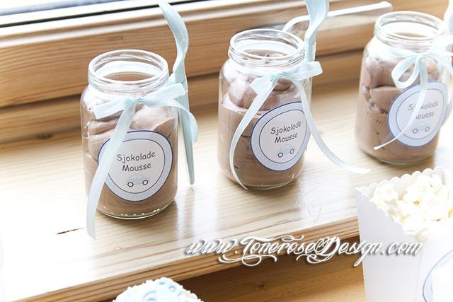 Sjokolademousse barnedåp