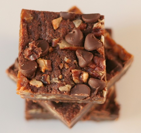 caramel brownies 2