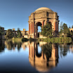 Great View of Palace of Fine Arts Dome