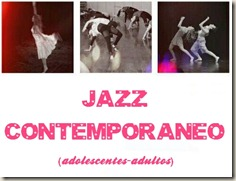 danza andy - jazz contempo flyer -