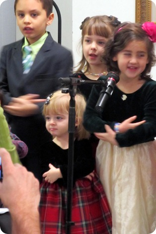 Elaine's First Christmas Program
