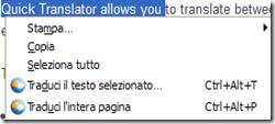 Quick Translator
