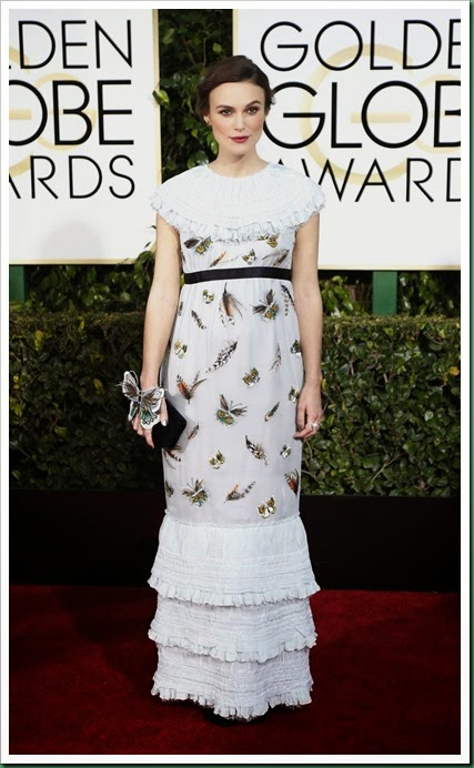 keira knightley at 72nd Golden globes