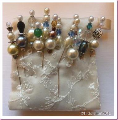 Beaded pins
