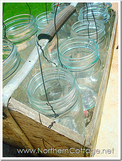 how to make mason jar lanterns northern cottage