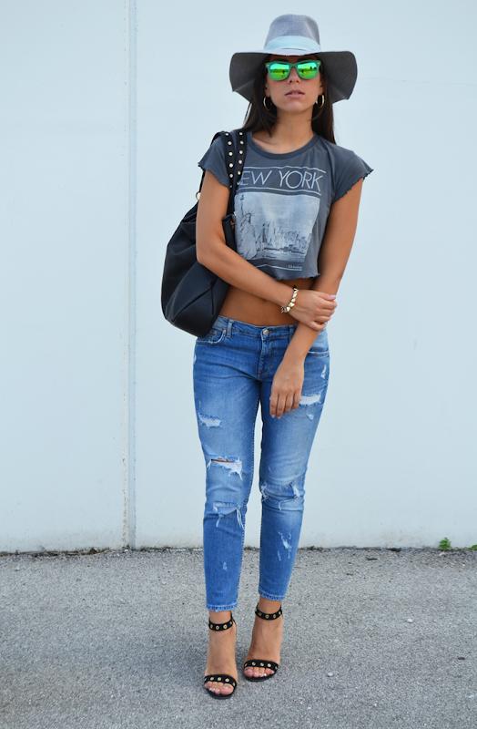 look pomeriggio shopping napoli fashion blogger