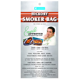These smoking bags from Emeril are a no-mess way to add flavor to your barbecue. (emerils.com)