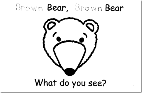 Preschool Alphabet: Bears