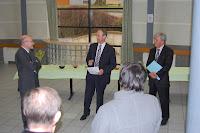 2010 - Visite Sous Prefet Jacky HAUTIER Et De L Inspecteur De L EN Charles JUVING