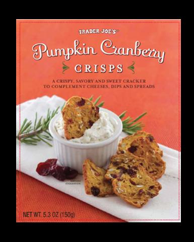 TJ pumpkin crisps