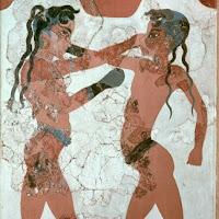 17.- Los boxeadores. Isla de Thera
