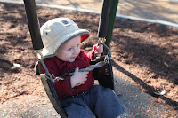 On to the swings