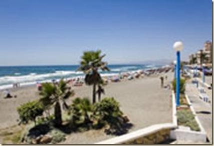 Playa Ferrara en malaga--