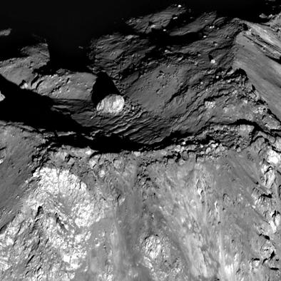 imagem do nascer do Sol na cratera Tycho na Lua