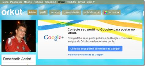 integrar G  no Orkut