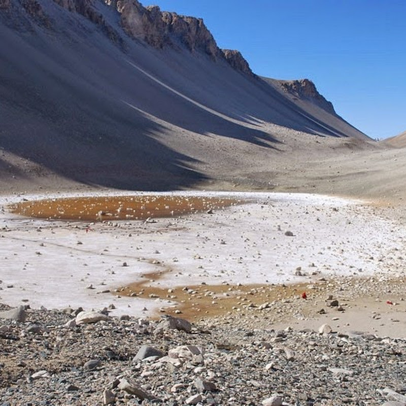 Don Juan Pond: The Saltiest Body of Water on Earth