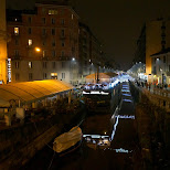 milan canals in Milan, Milano, Italy