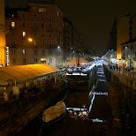 milan canals in Milan, Milano, Italy