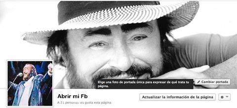 Cómo cambiar la foto portada de Facebook