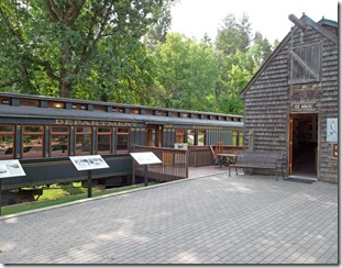 Railcar & Icehouse